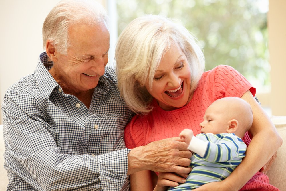 Grandparents who have learnt Baby First Aid